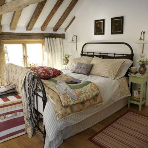 摩登卧室混搭装潢设计图片
