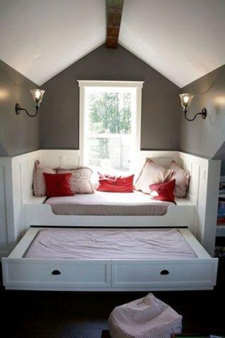 混搭卧室榻榻米室内装饰