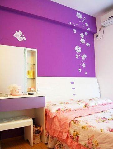 卧室背景墙混搭装修实景图片