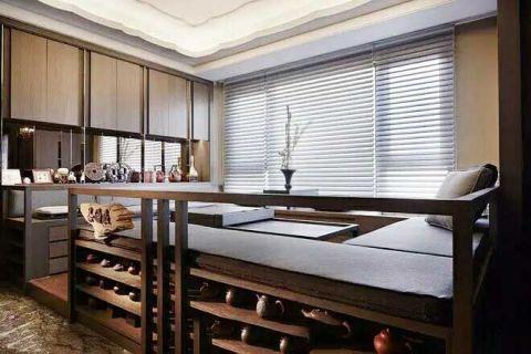 低调优雅卧室榻榻米设计方案