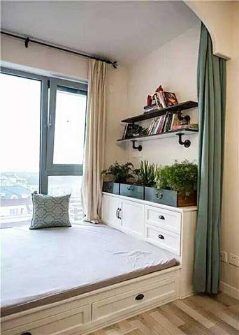 温暖卧室混搭装饰图