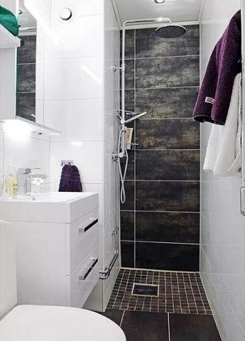 文艺浴室细节装修方案