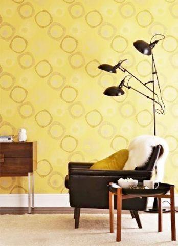 客厅背景墙混搭设计图欣赏
