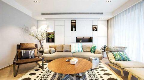 客厅背景墙现代简约设计方案