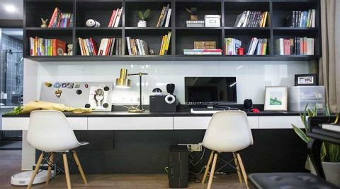 质朴书桌装修设计