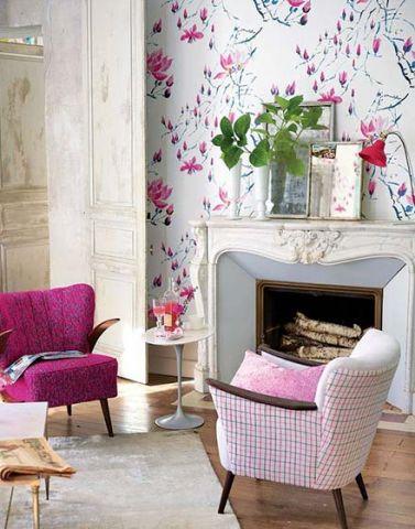 朴素温馨背景墙家装设计