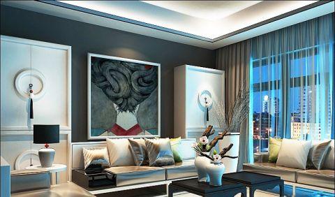 中式风格大户型155平米装饰实景图片