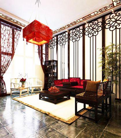 精雕细刻客厅吊顶效果图图片