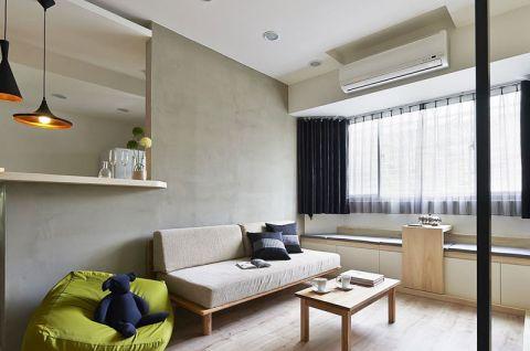 客厅灰色沙发效果图图片