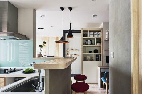 个性厨房岛台装饰实景图片