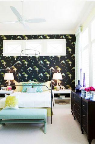 最新卧室混搭装修案例图片