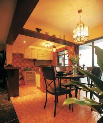 大气餐厅美式设计方案