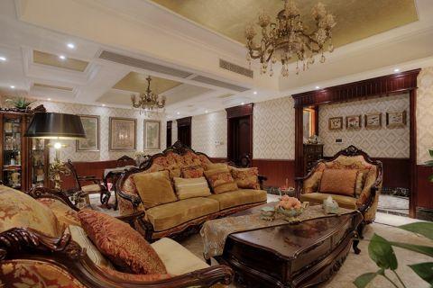 现代欧式风格四居室170平米图片