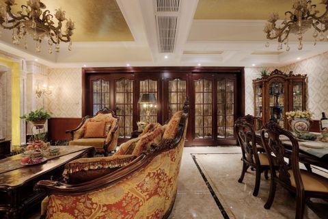 美轮美奂餐厅家装设计
