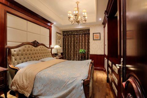卧室床装潢效果图