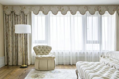 2019新古典卧室装修设计图片 2019新古典窗帘装修设计图片