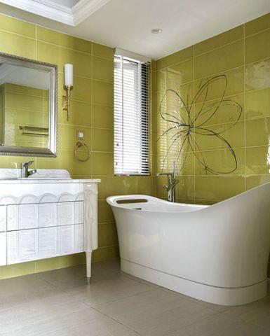 2019新古典浴室设计图片 2019新古典浴缸装修效果图大全