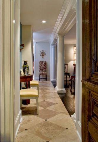 欧式风格别墅127平米装修案例效果图