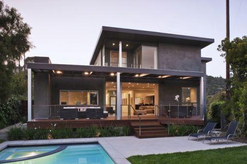 别墅125平米现代简约风格装修