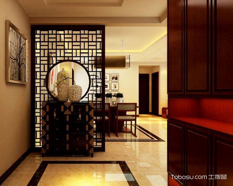 奢华大气典雅中式三居室装修 这套度假公寓太美