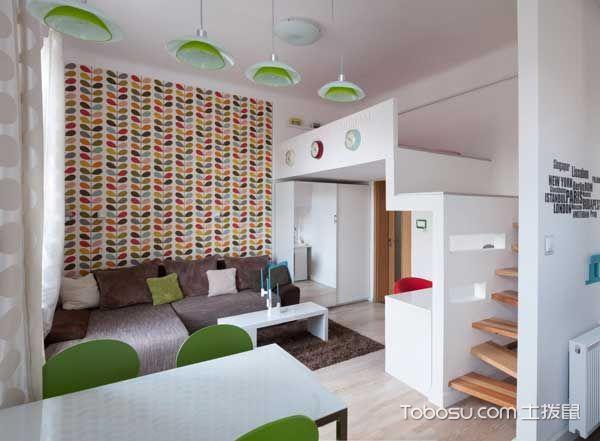 美好客厅简欧装饰图片