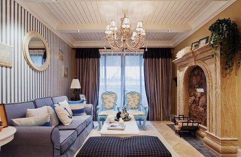 100平米三居室地中海风格装修