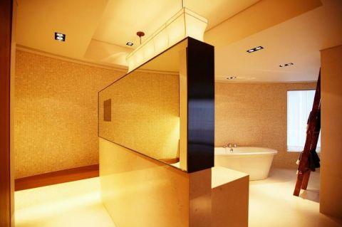 摩登浴室新中式设计效果图