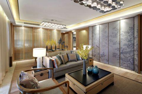 公寓110平米新中式风格装修