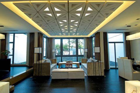 156平米别墅新中式风格装修