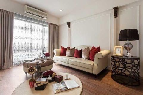 98平米公寓简欧风格装修