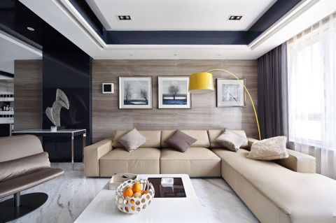 2018现代简约110平米装修设计 2018现代简约二居室装修设计