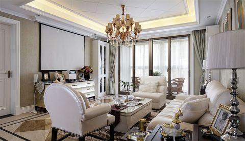 2019新古典150平米效果图 2019新古典公寓装修设计