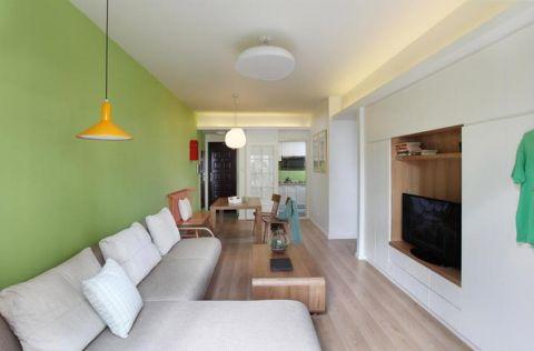 北欧风格三居室84平米室内装饰