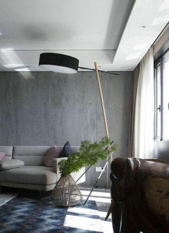 雅致灰色客厅装潢设计图片