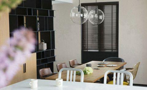 餐厅餐桌简约风格装修效果图