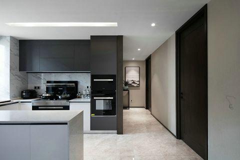 厨房厨房岛台简约风格效果图