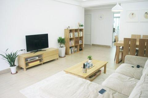 96平米三居室日式风格室内装修图片