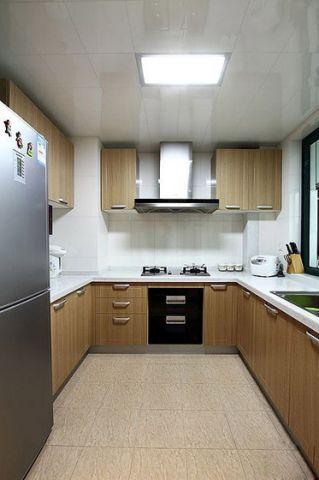 厨房厨房岛台日式风格装饰效果图