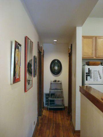 客厅走廊混搭风格装潢效果图
