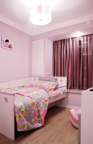 温暖彩色儿童床装修实景图片