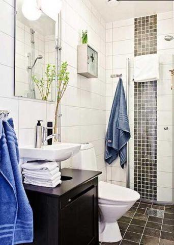 卫生间洗漱台东南亚风格装饰图片