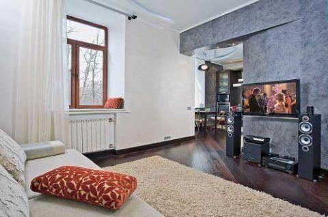 86平米公寓混搭风格装修