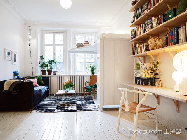 客厅黑色沙发混搭风格装饰图片