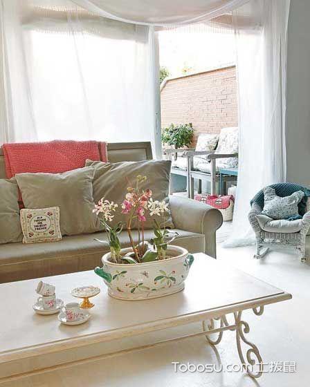 2020韩式客厅装修设计 2020韩式茶几效果图