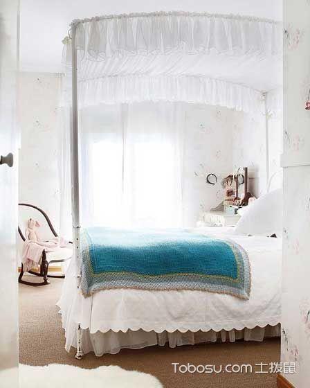 2020韩式卧室装修设计图片 2020韩式床图片