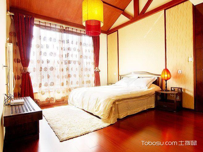 2021中式古典卧室装修设计图片 2021中式古典背景墙装饰设计