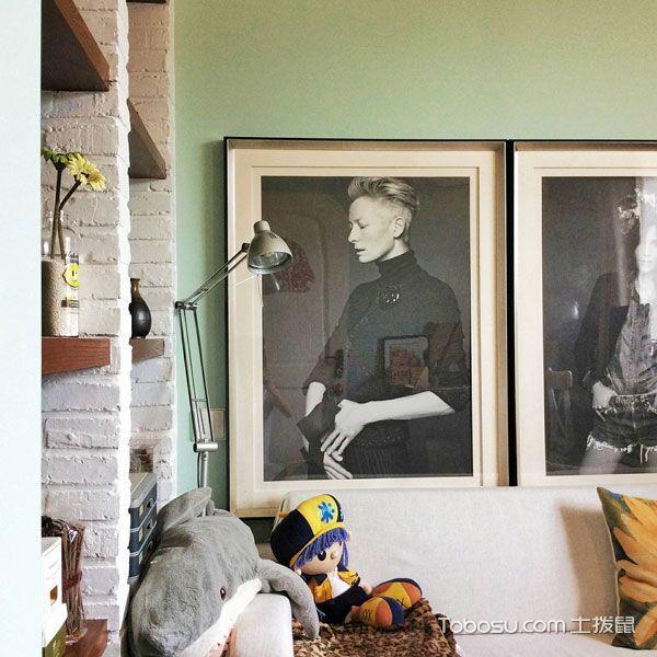 清新地中海田园两居室 像一个室内小花园