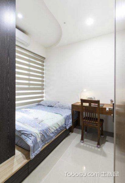 卧室彩色细节日式风格装修效果图