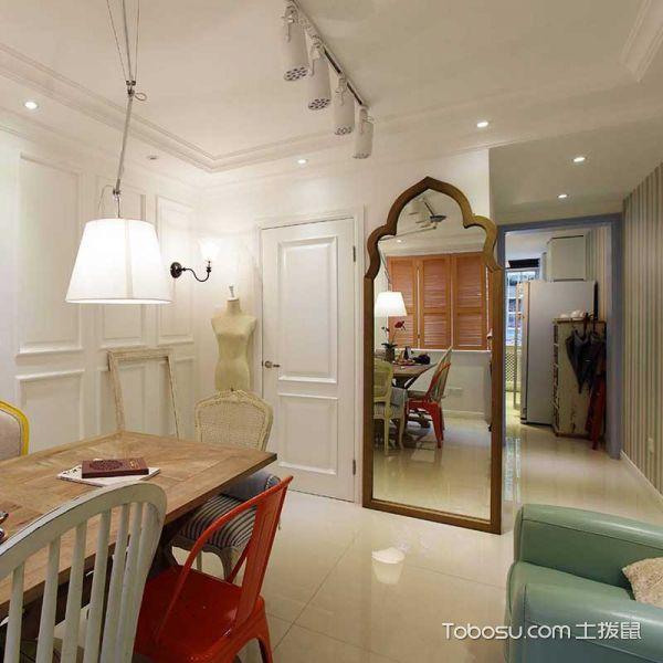 2021现代简约客厅装修设计 2021现代简约隐形门装修效果图片