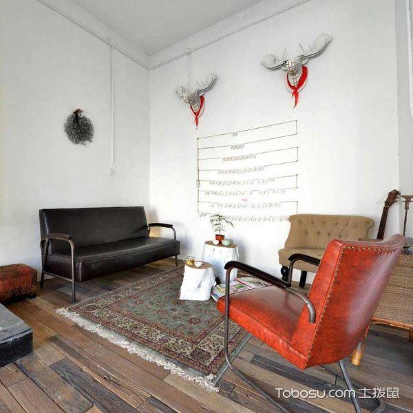 公寓98平米北欧风格效果图